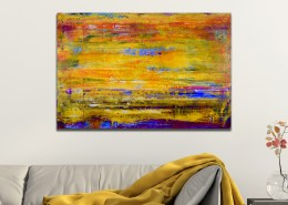 SOLD - Ablaze 2 by painter Nestor Toro