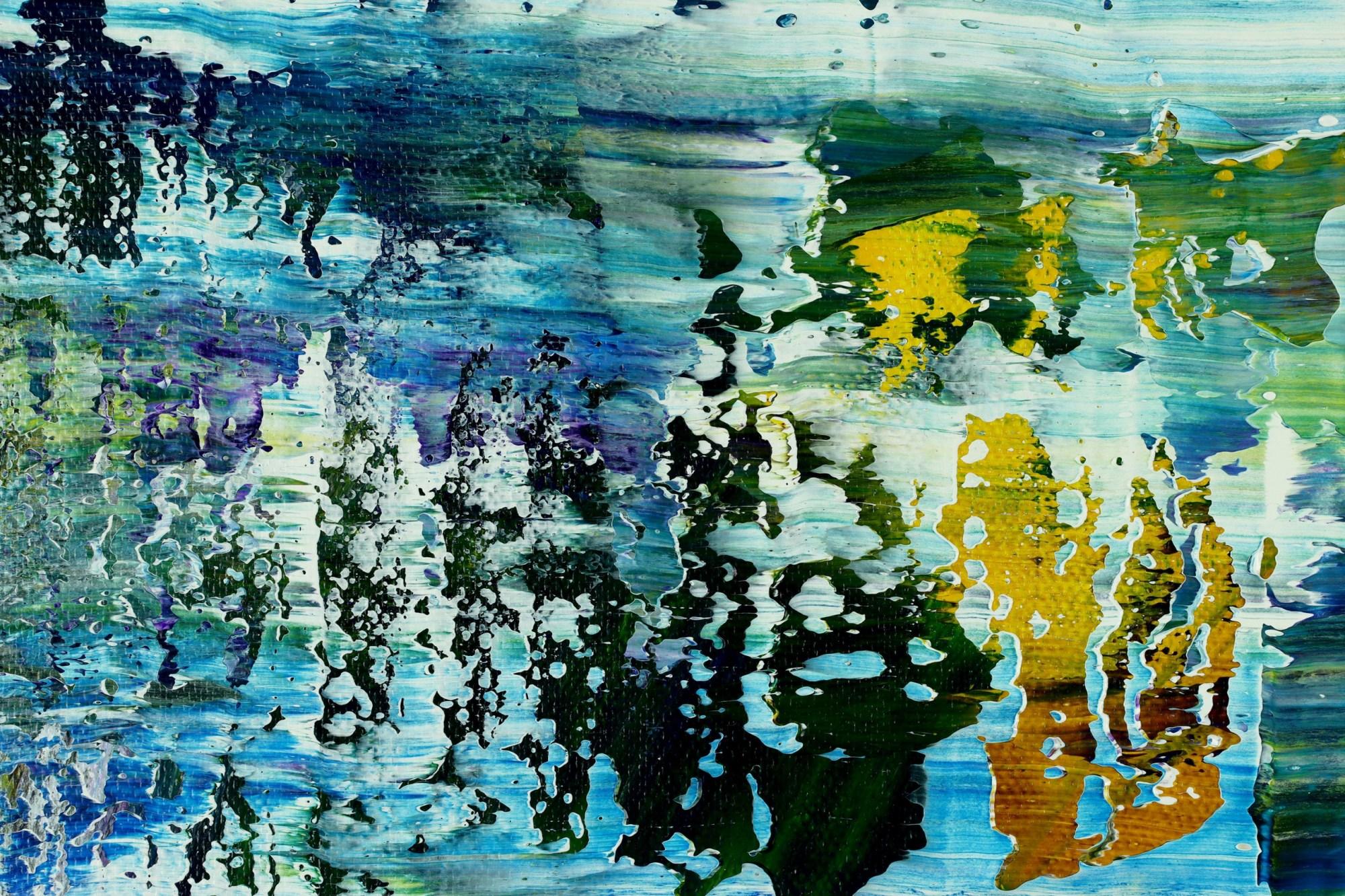 DETAIL / Under Water (Caribbean Ocean) (2021) / Artist: Nestor Toro