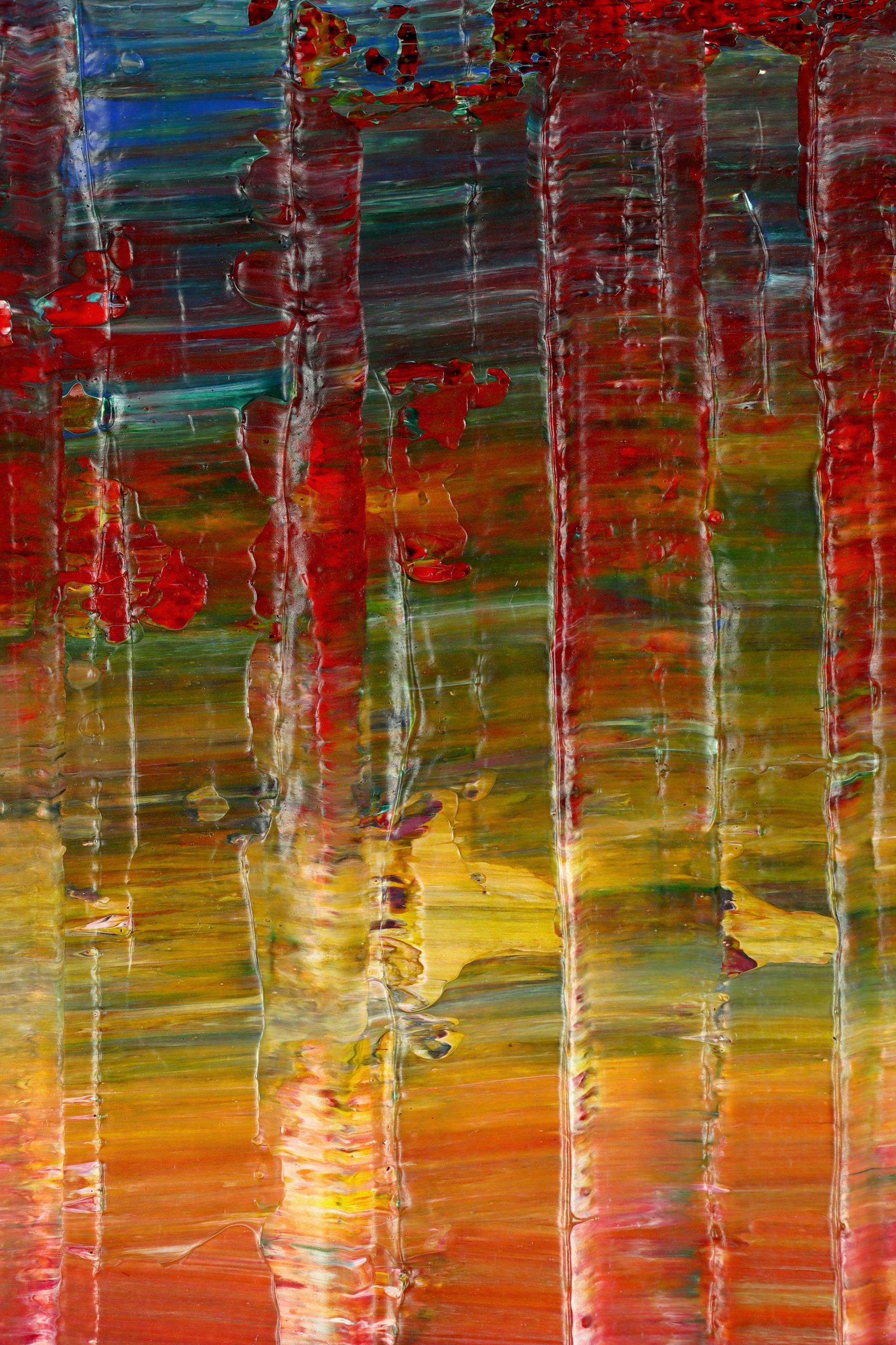 DETAIL / A Matter of Nature 9 (Tropics Reflections) (2021) / Artist: Nestor Toro
