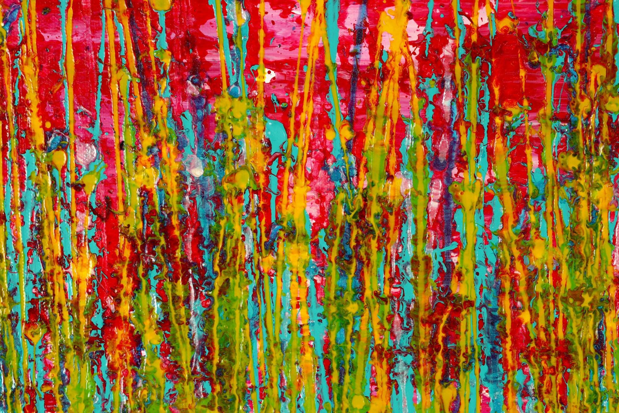 DETAIL / Caribbean Reflections 4 (2021) / Artist: Nestor Toro