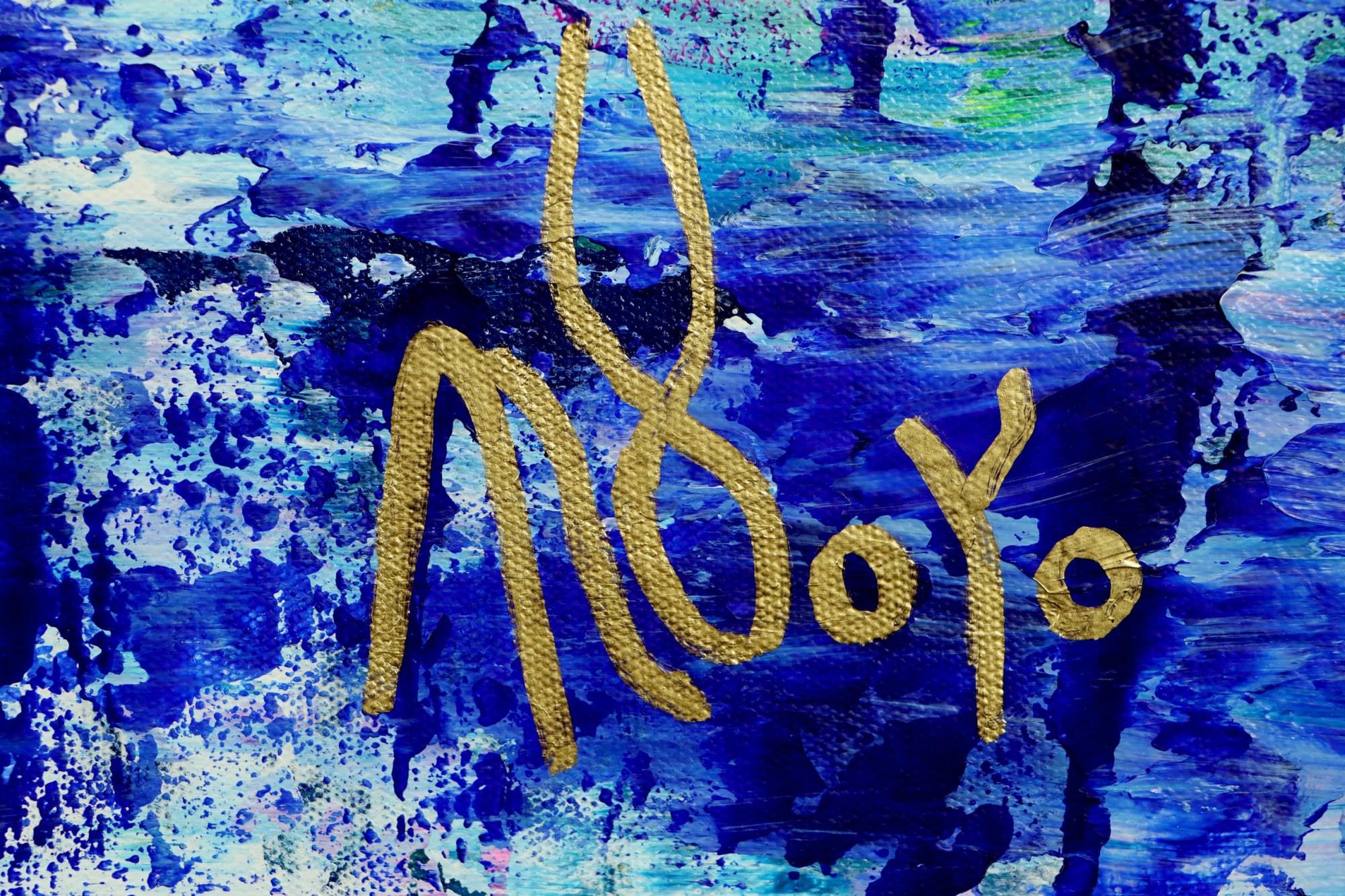 Signature / Caribbean Ocean Waters (2021) by Nestor Toro