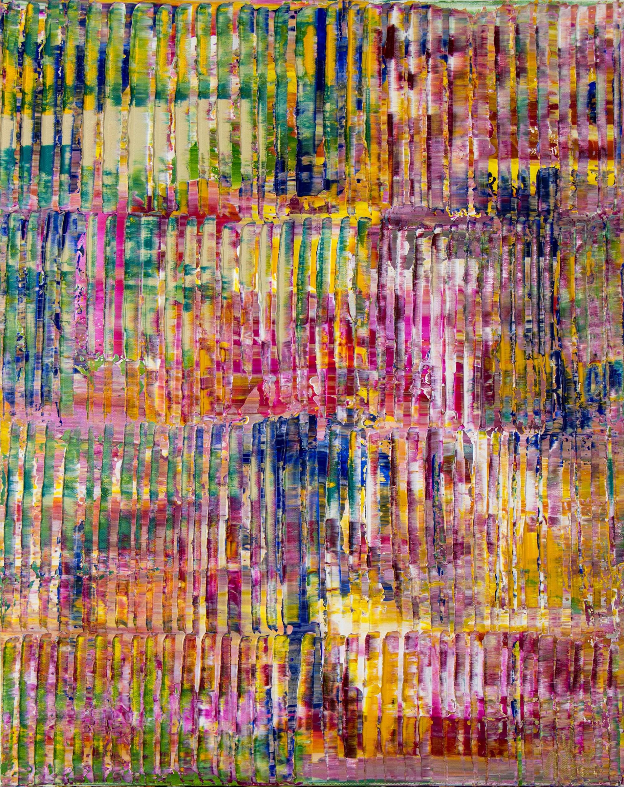 SOLD - Unpredictable Nature (Earth Colorfield) (2021) / ARTIST: Nestor Toro