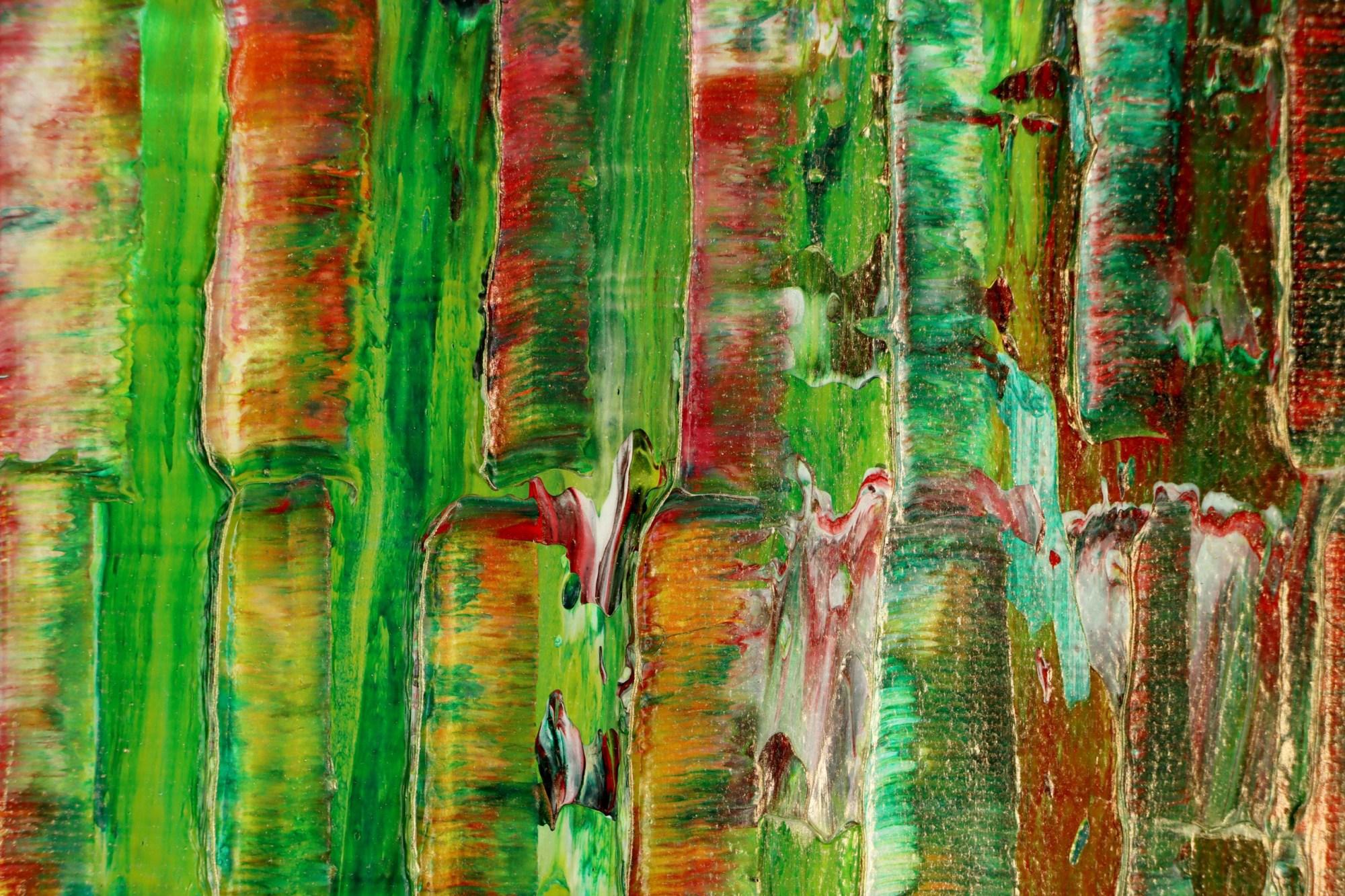 DETAIL / Unpredictable nature (Earth colorfield) 2 (2021)