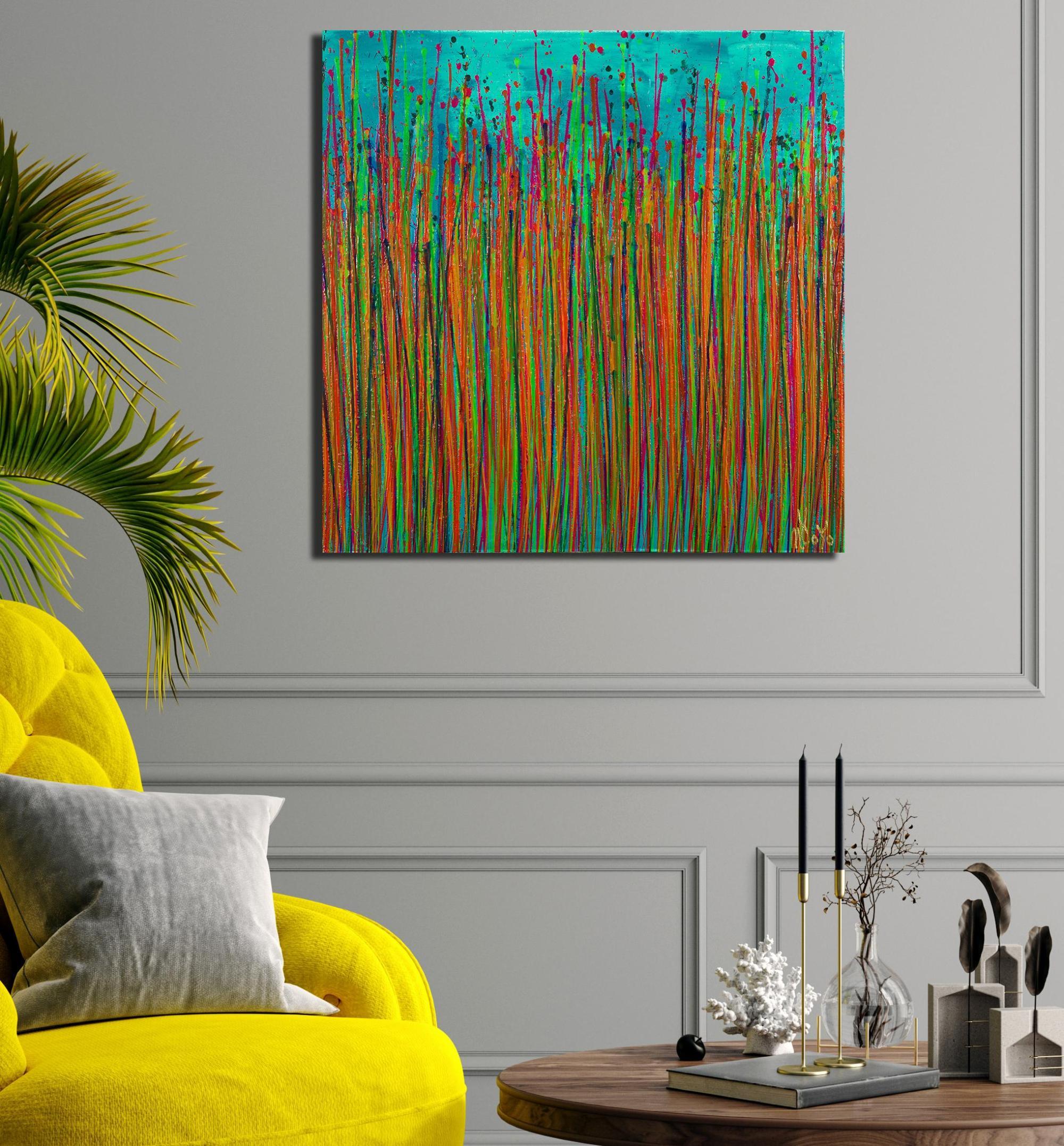 Caribbean Reflections 5 (2021) / Artist: Nestor Toro