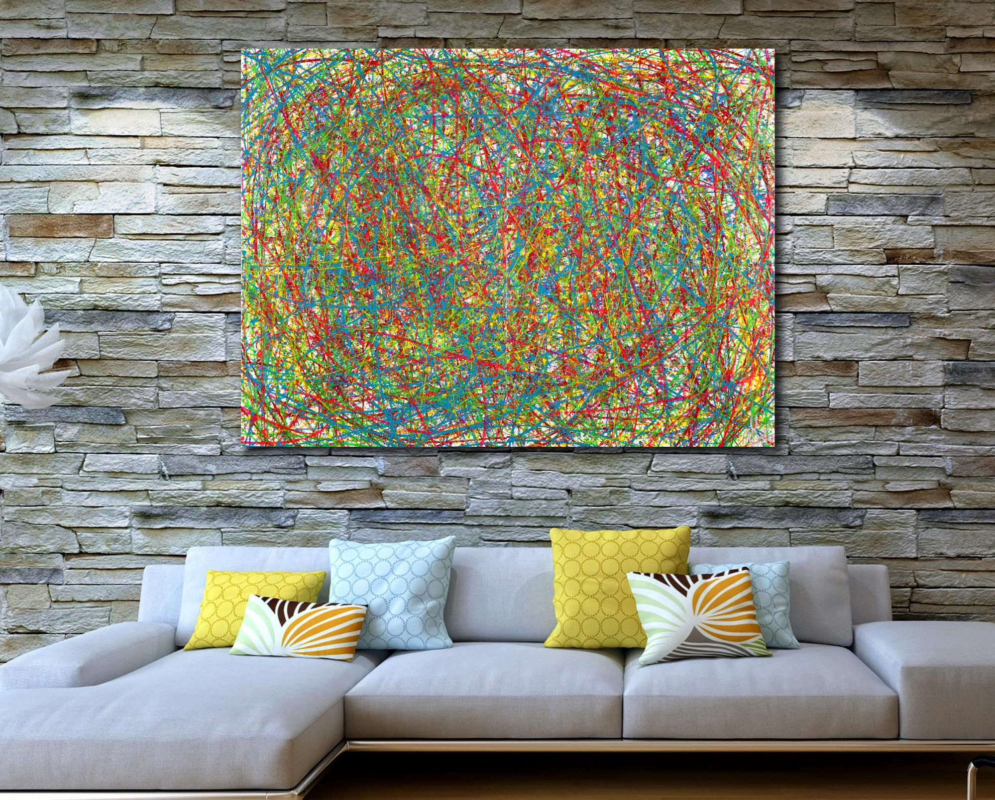 Colorful display of affection 2 (2021) / Diptych