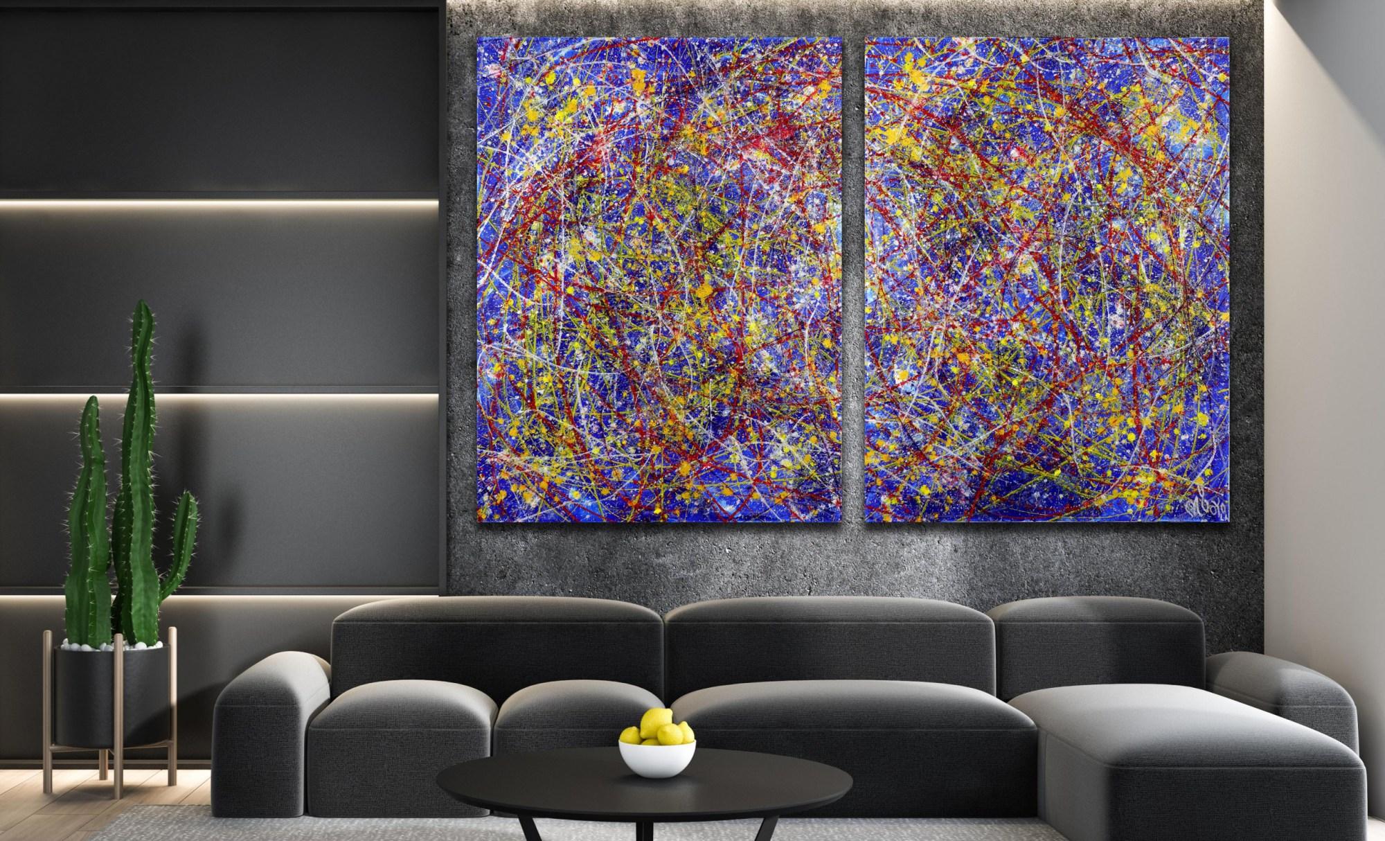 Tangled Up In Blue (2021) / ARTIST: NESTOR TORO