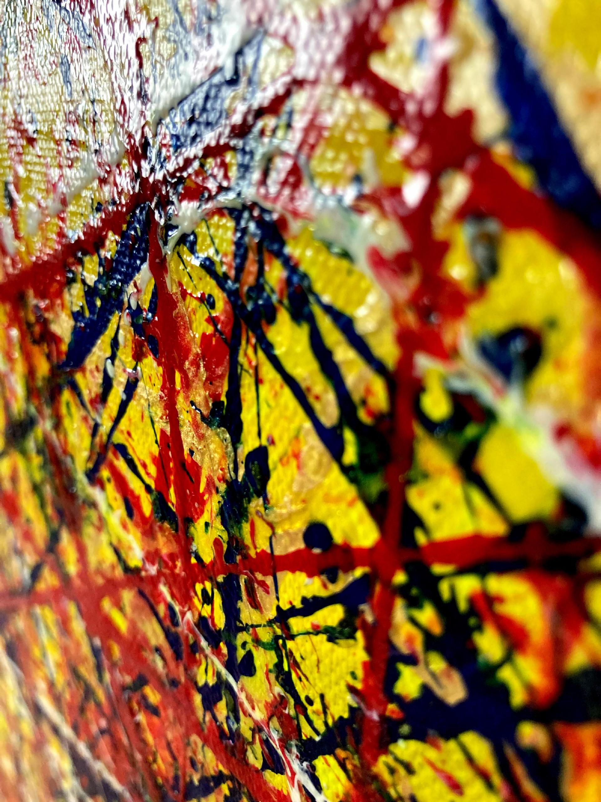 TEXTURE / Colorful Display of Affection 3 (2021) / ARTIST: NESTOR TORO