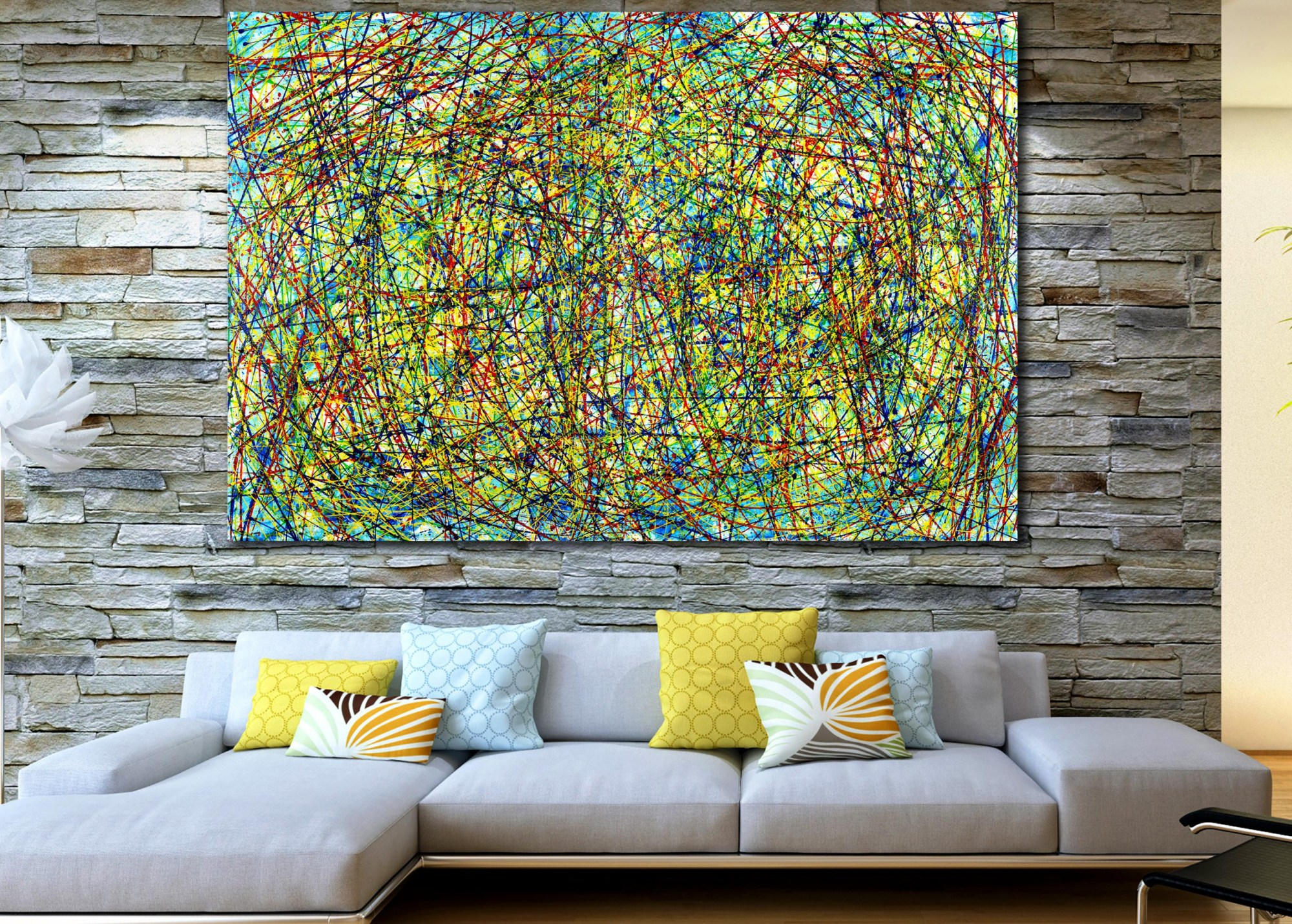 Colorful Display of Affection 1 (2021) / Artist: Nestor Toro
