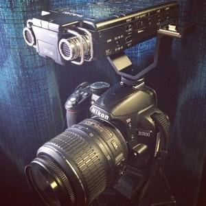 My microbudget film kit