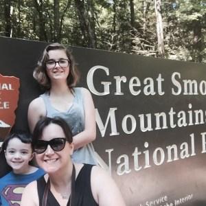 Summer road trip  #GreatSmokyMountains #NationalParks #VintageTinTrailer #roadtrip #familytime #family
