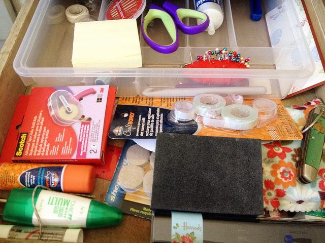 Sewing, glues, odds & ends