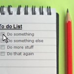 2012 to do list