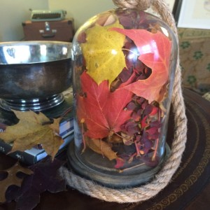 Cute, quick, and easy fall decor project