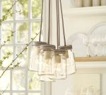 EXETER 5-JAR PENDANT, GALVANIZED METAL FINISH