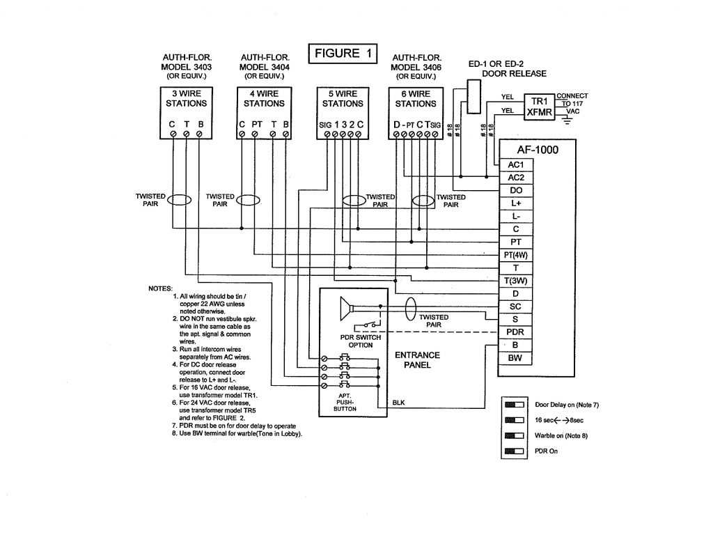 Doorbell Intercom Wiring Diagram Wiring Diagram