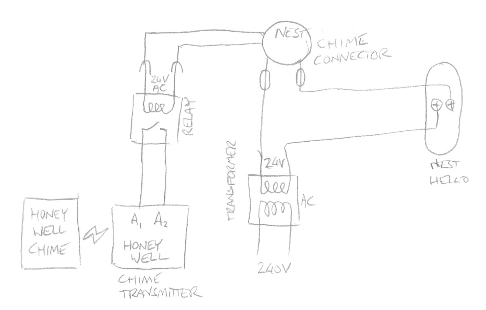Nest Chime Connector Wiring Diagram 3 Wire