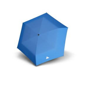 Vaikiškas skėtis Doppler Kids Reflex, mėlyna, su atšvaitu, išskleistas