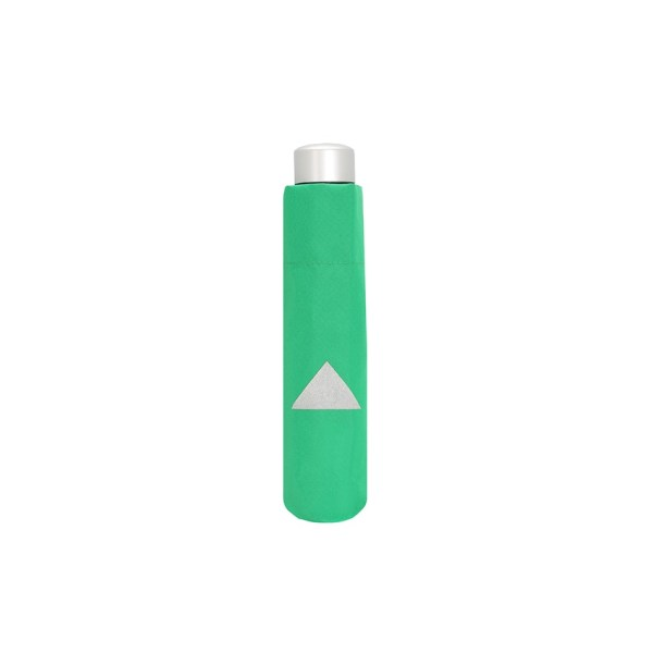 Vaikiškas skėtis Doppler Kids Reflex, žalia, su atšvaitu, suskleistas