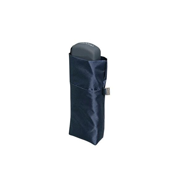 Unisex skėtis Doppler Fiber Handy Uni, mėlyna, suskleistas