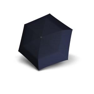 Unisex skėtis Doppler Fiber Handy Uni, mėlyna, išskleistas
