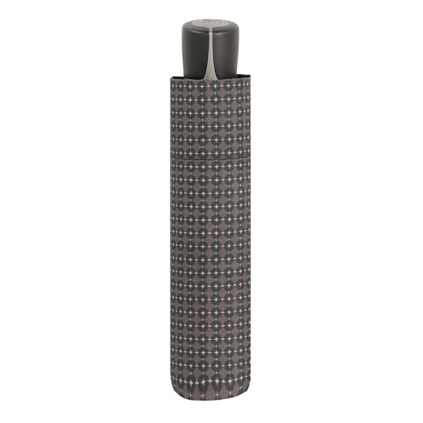 Vyriškas skėtis Doppler Fiber Mini, margas, suskleistas