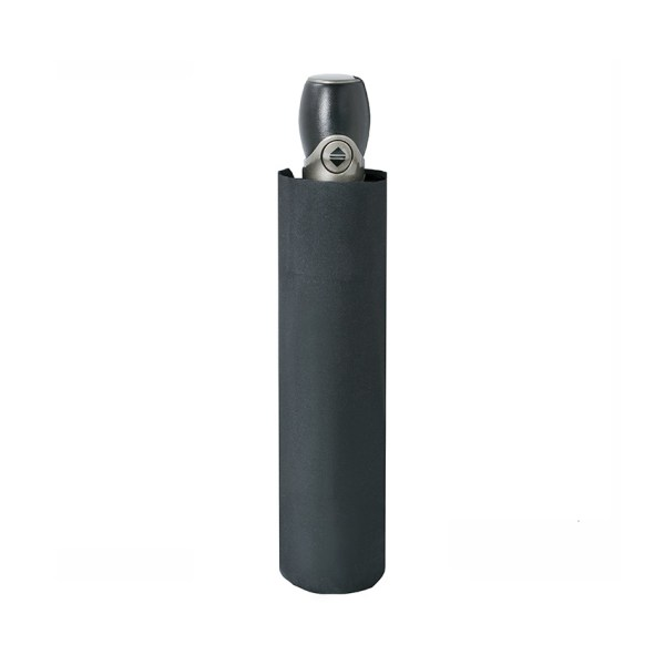 Vyriškas skėtis Doppler Fiber Magic Premium, juoda, suskleistas