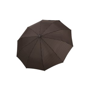 Vyriškas skėtis Doppler Fiber Magic Strong, ruda, išskleistas