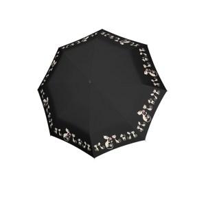 Moteriškas skėtis Doppler Fiber Cats, juoda, kupolas