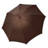 Vyriškas rankų darbo skėtis Doppler Manufaktur Hasel Oxford atidarytas