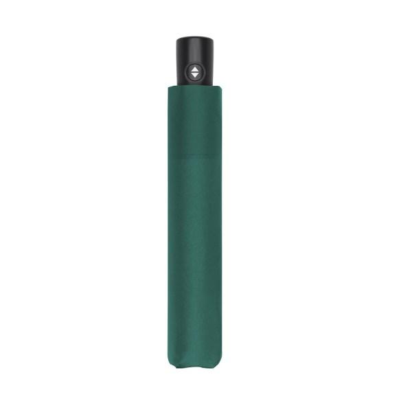 Unisex skėtis Doppler Zero Magic Evergreen, satino žalia, uždarytas