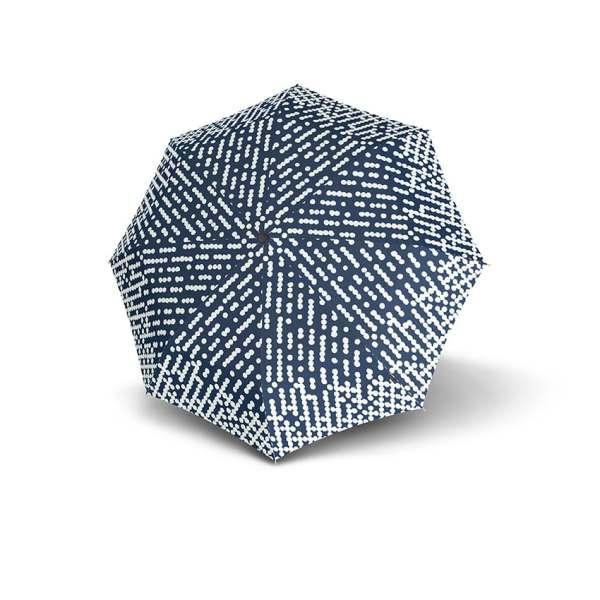 Moteriškas skėtis Knirps X1 NUNO design Droplets atidarytas
