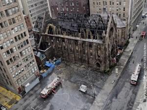 Crkva Sveti Sava izgorela u požaru
