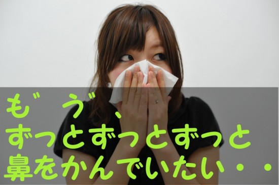 アレルギー性鼻炎で鼻声が酷くて辛い!根本的に解決する方法は?