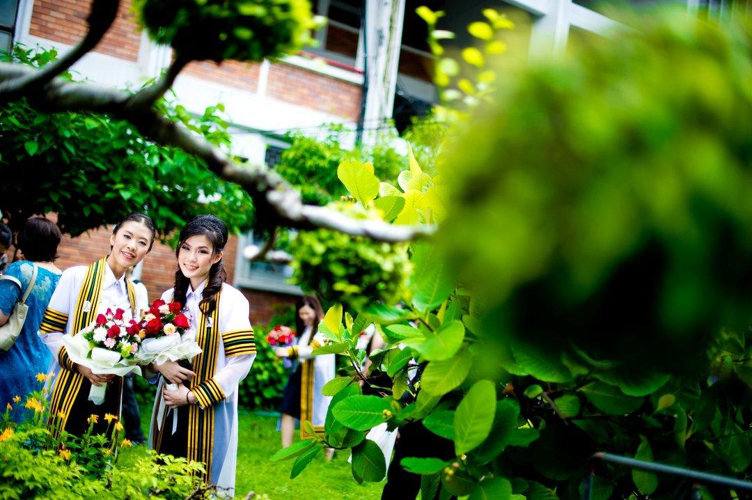 ภาพงานรับปริญญาที่จุฬาลงกรณ์มหาวิทยาลัย | No's Commencement Rehearsal Day at Chulalongkorn University