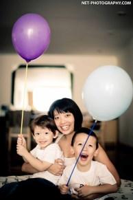 Family Photo Session 2012, Bangkok, Thailand.