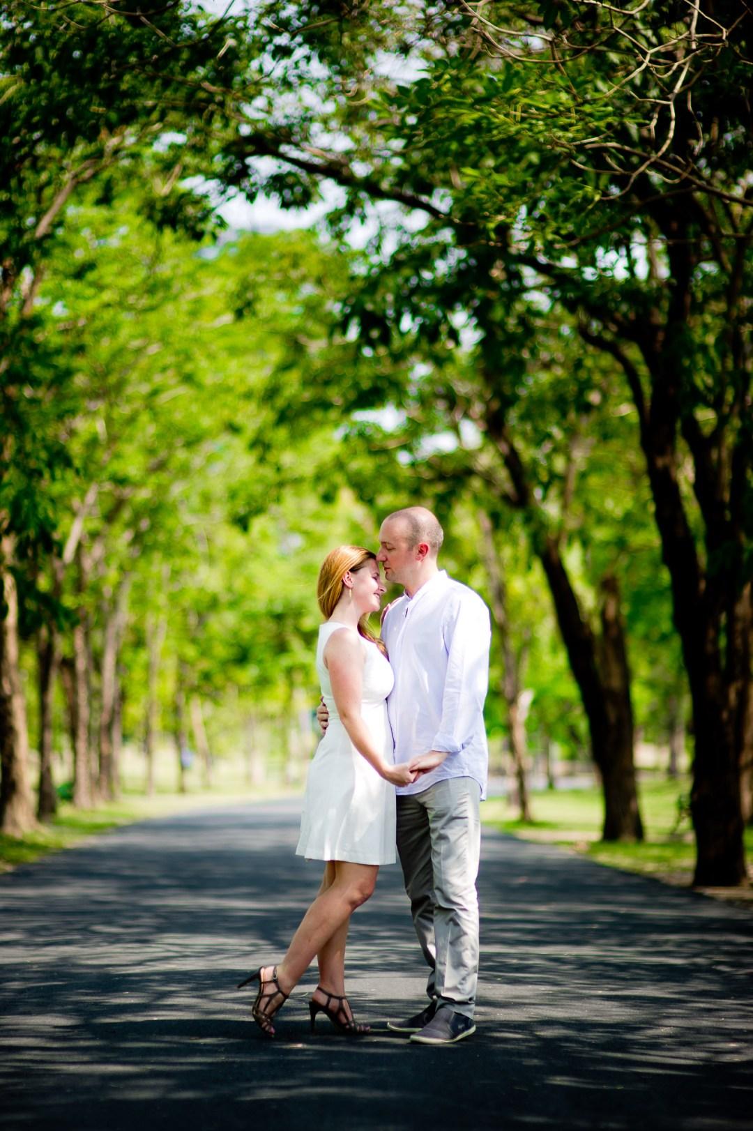 Bangkok Wedding Photography | Rod Fai Park Engagement Session