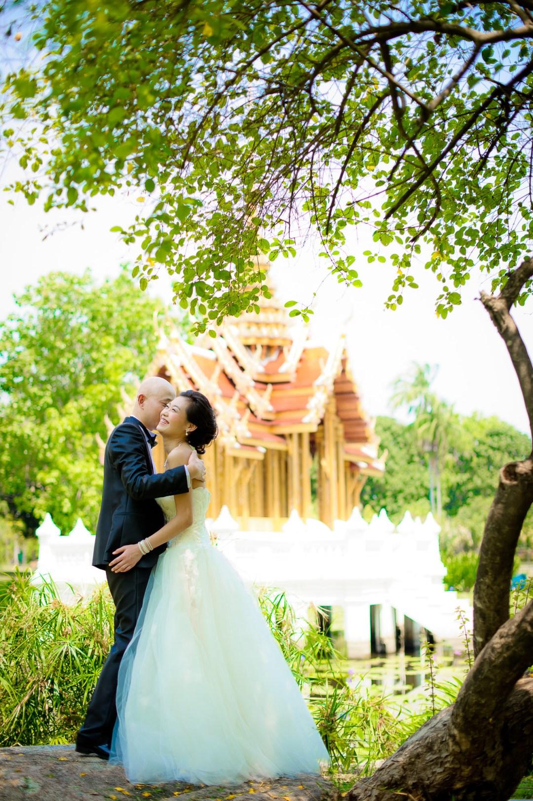 Bangkok Wedding Photography | Rama IX Park Pre-Wedding Photography