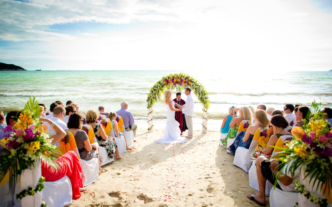 Photo of the Day | Koh Samui Beach Wedding