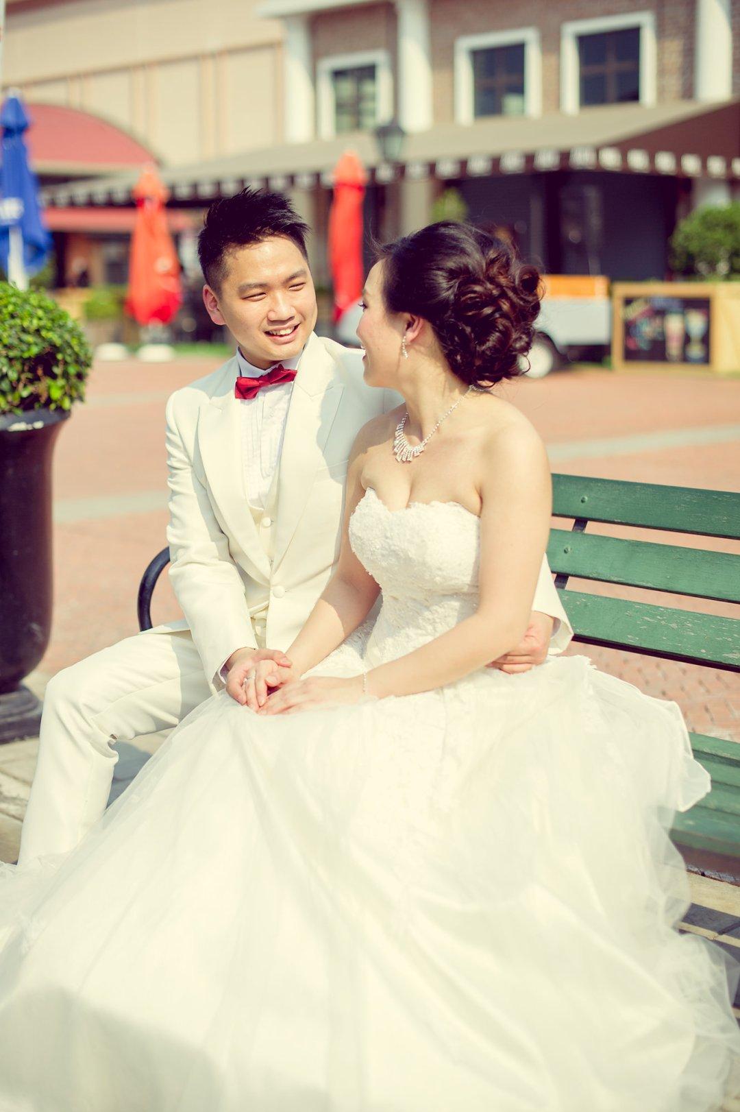 Pre-Wedding @ Asiatique The Riverfront | Bangkok Wedding Photography