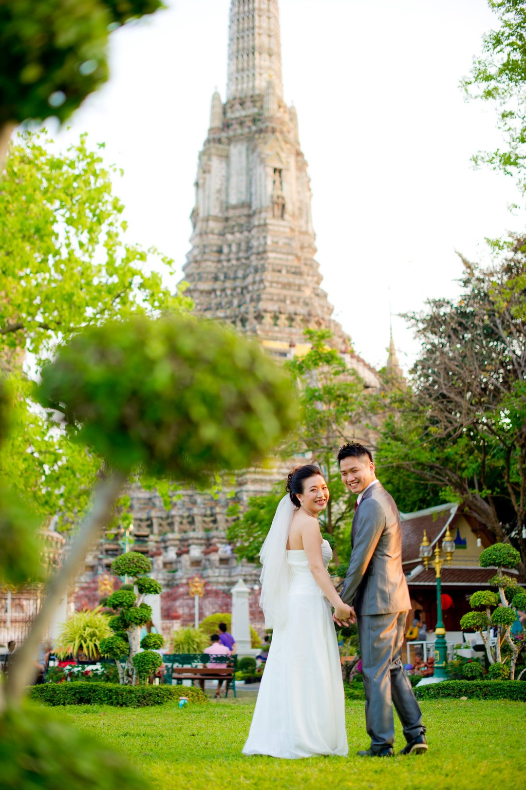 Pre-Wedding @ Wat Arun (Temple of Dawn) | Bangkok Wedding Photography
