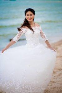 ภาพคู่แต่งงานพรีเวดดิ้ง ชายหาด ทะเล หัวหิน   Hua Hin Beach Pre-Wedding Photo