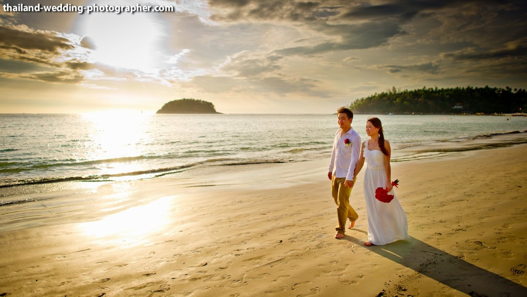 Kata Beach Phuket Wedding Photography