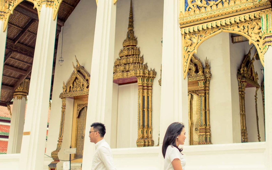 Photo of the Day | The Grand Palace Bangkok Thailand Pre-Wedding Session