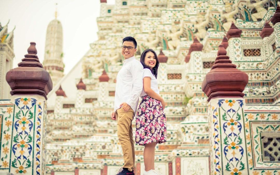 Photo of the Day | Wat Arun Bangkok Thailand Pre-Wedding Photo Shoot