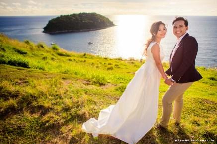 Thailand Phuket Windmill Viewpoint Pre-Wedding Photography