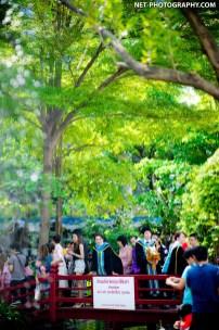 Nooknick Commencement Day at The University of the Thai Chamber of Commerce UTCC in Bangkok, Thailand. ถ่ายภาพรับปริญญามหาวิทยาลัยหอการค้าไทย