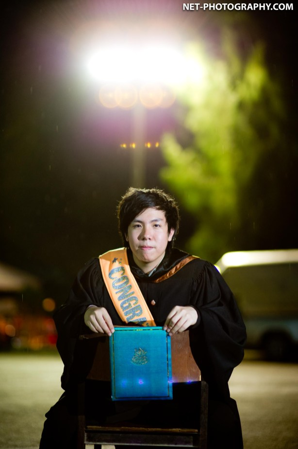 Poe's Commencement Day at Silpakorn University in Nakhon Pathom, Thailand.