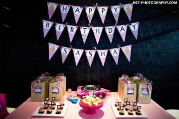 Sasha's 5th Birthday Party in Bangkok, Thailand.