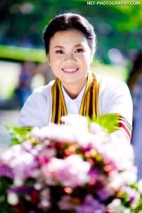Neoy's Commencement Day at Chulalongkorn University in Bangkok, Thailand.