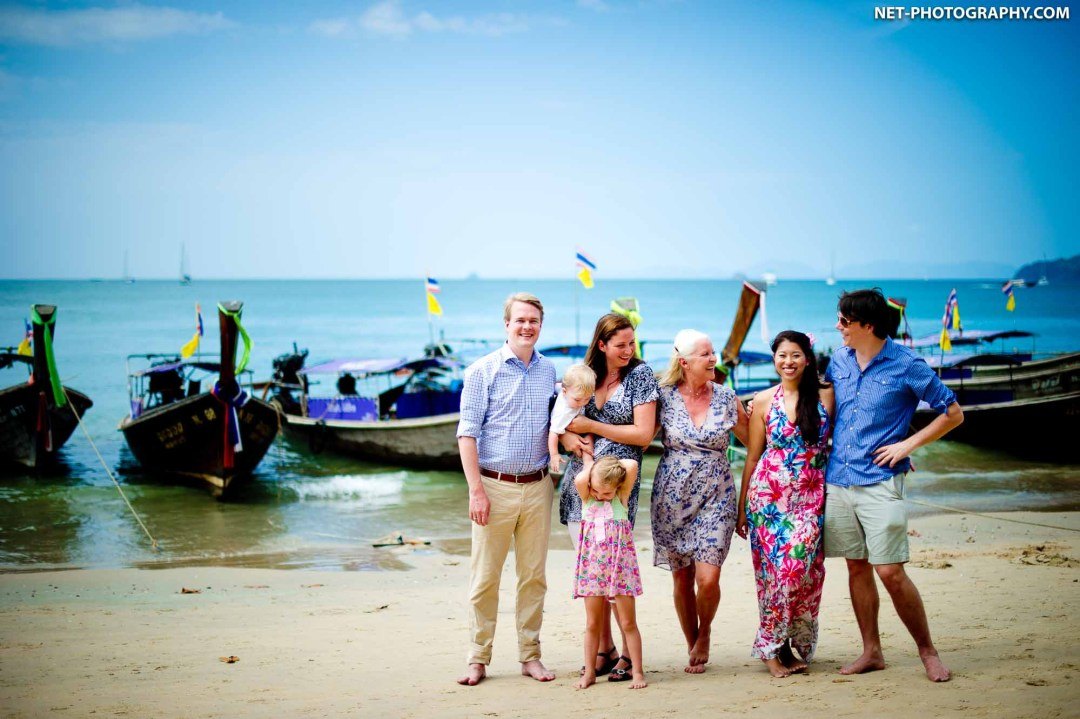 Aonang Beach Krabi Family Photography
